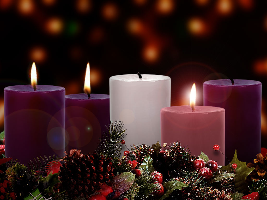 Catholic Advent Wreath A late advent reflection